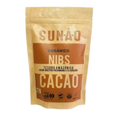 Nibs de Cacao Orgánicos Sunao