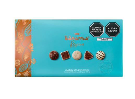 Bombones de Chocolate Surtidos X 10 Unid - D'Onofrio Reserva
