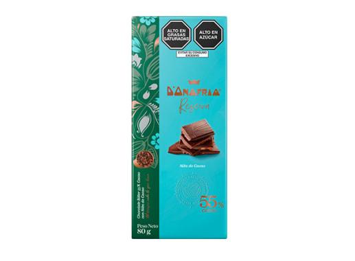Chocolate 55% cacao con nibs - D´Onofrio Reserva