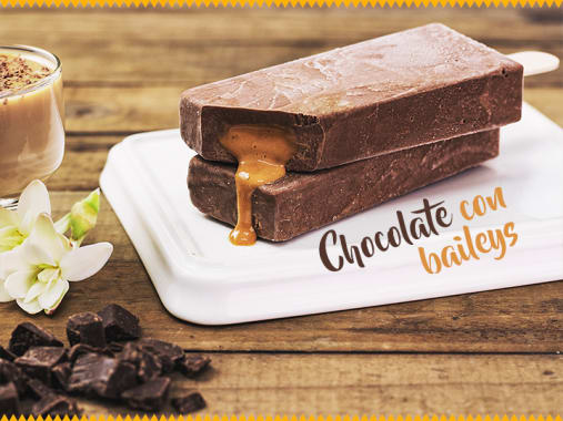Chocolate con Baileys