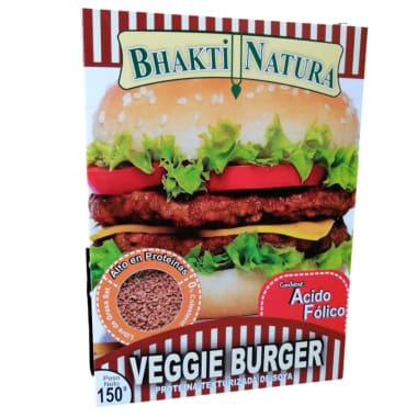 Proteína de Soya Bhakti Natura  Hamburguesa Vegetariana