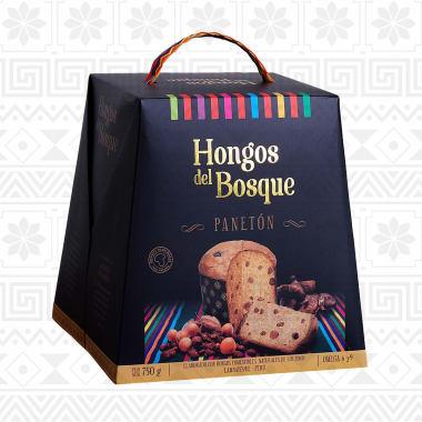 PANETON DE HONGOS 750G HONGOS DEL BOSQUE