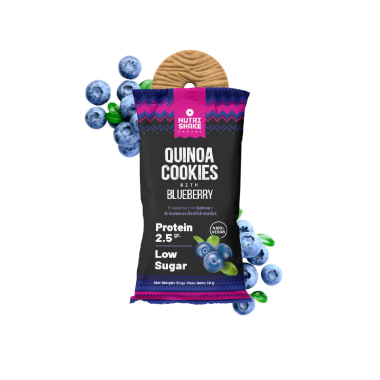 40 Blueberry Quinoa Cookies