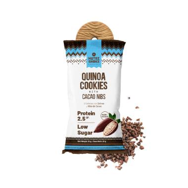 40 Cacao Nibs Quinoa Cookies
