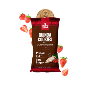 40 Cacao Strawberry Quinoa Cookies