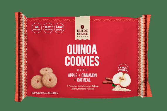 Galleta con Quinua, Manzana, Canela & Avena - Snack Nutrishake Andino