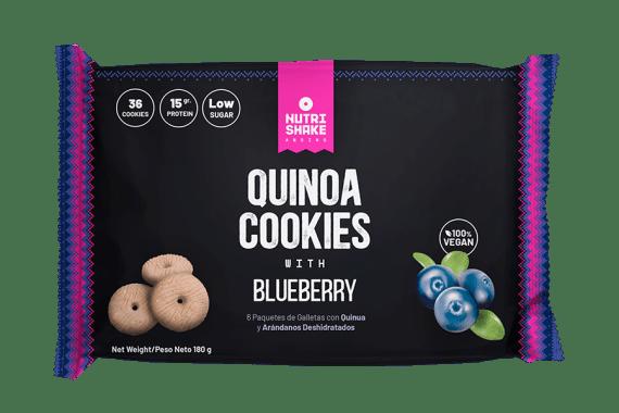 Galleta con Quinua & Blueberry - Snack Nutrishake Andino
