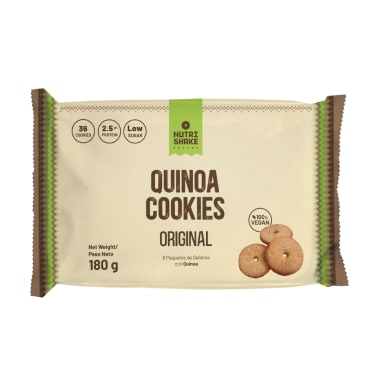 Galleta con Quinua Original - Snack Nutrishake Andino
