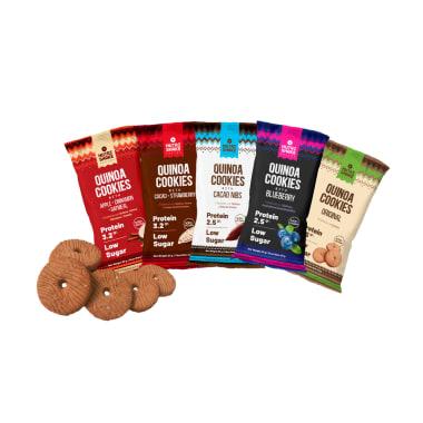 40 Quinoa Cookies - Sabores Surtidos
