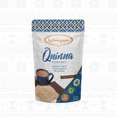 HARINA DE QUINUA INSTANTANEA CHOCOLATE 200G WINAYQAN