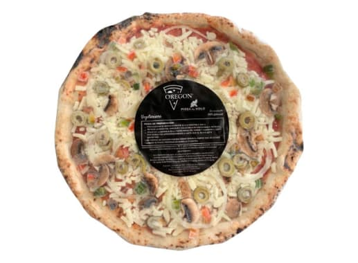 PIZZA ARTESANAL VEGETARIANA