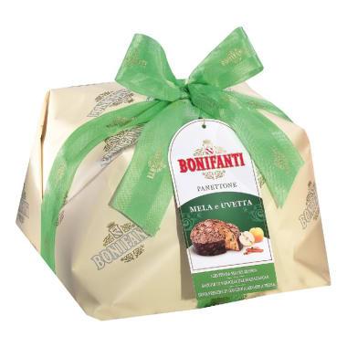 Bonifanti Panettone Manzana y Pasas