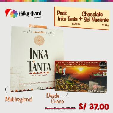 PACK INKA TANTA + SOL NACIENTE