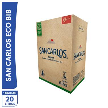 Agua San Carlos  20 Lt