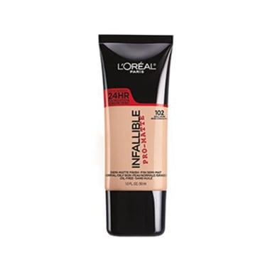 Base Infallible Pro-Matte Acabado Matte tono Shell Beige L'Oréal Paris