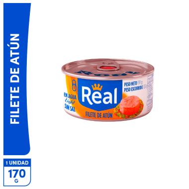Filete de Atún Real Light sin sal 170g