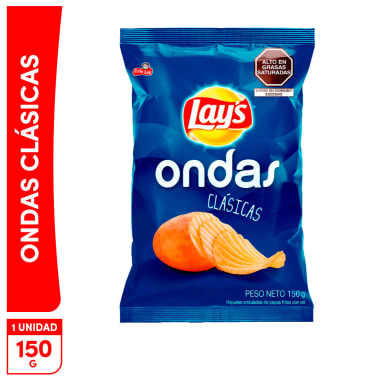 Lays Ondas Clasicas 150g