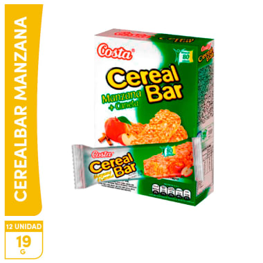 Cereal bar Manzana Canela 18g