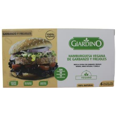 Hamburguesas veganas Mix Giardino