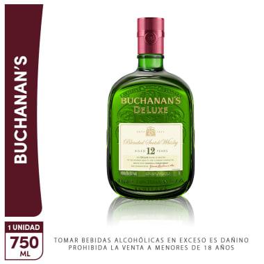 Buchanan Deluxe 12 Años 750ml