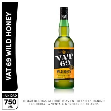 Whisky VAT 69 Honey 750Ml