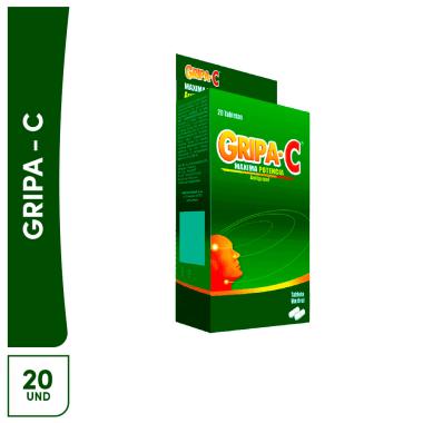Gripa C Maxima Potencia 20 tabletas