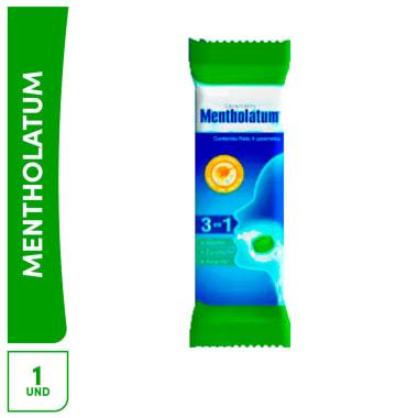 Caramelos Mentholatum (3 en 1)  4 caramelos