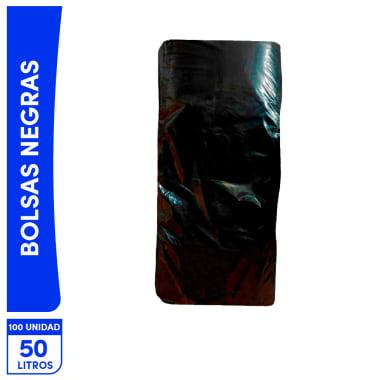 Bolsas Negras 50L 100 unidades