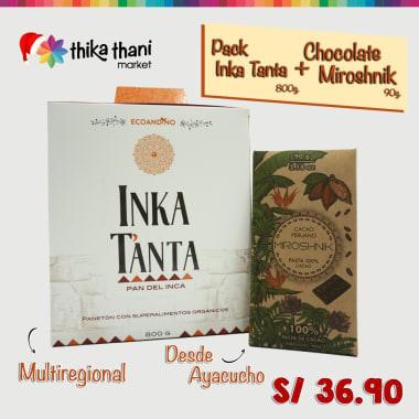PACK INKA TANTA + CHOCOLATE MIROSHNIK
