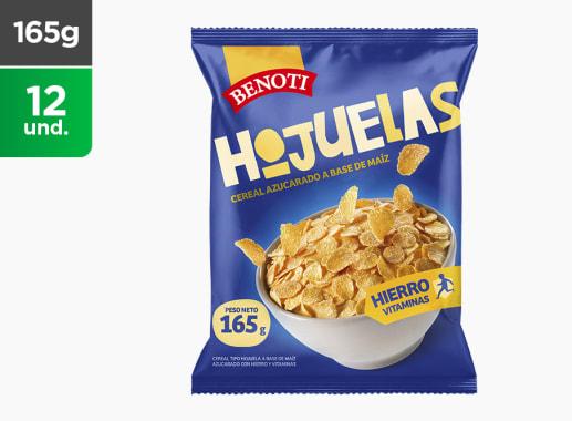 Cereales Hojuela de Maiz Azuc Benoti 165 gr