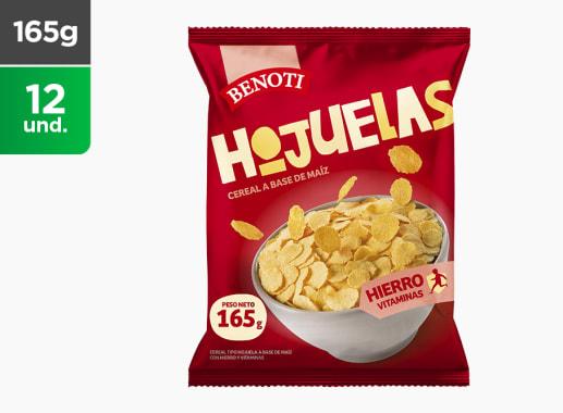 Cereales Hojuela de Maiz Benoti 165 gr
