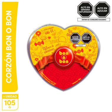 Mini Corazón Bon o Bon 105g