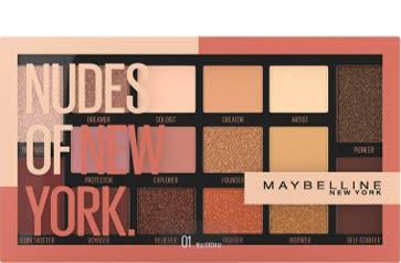 Paleta de sombra de ojos Nudes Of New York Maybelline
