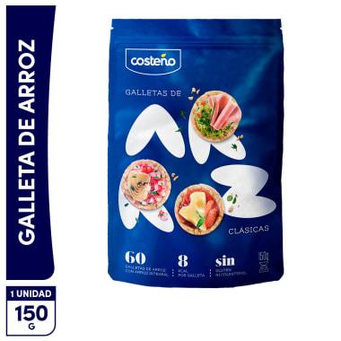 Costeño galleta de arroz clásica 150g