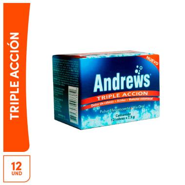 Sal de Andrews Triple Acción 12 und