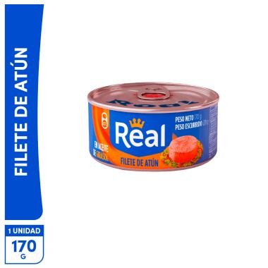 Filete de Atún Real en aceite Girasol 170g