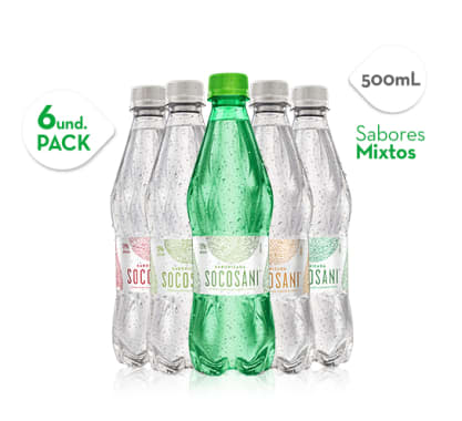Mix Aguas saborizadas 500 ml x6