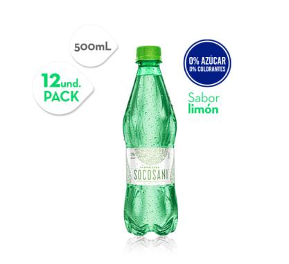 Agua Citrus Limón Socosani 500 ml