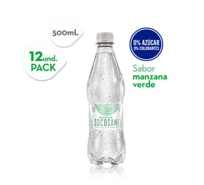 Agua Manzana Verde Socosani 500 ml