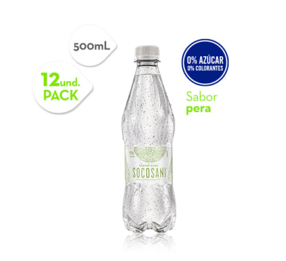 Agua Pera Socosani 500 ml