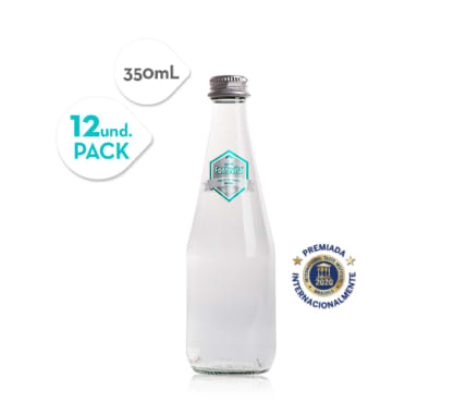 Agua de mesa sin gas Fontevita VIDRIO 355 ml