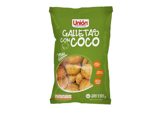 Mega Galleta de Coco