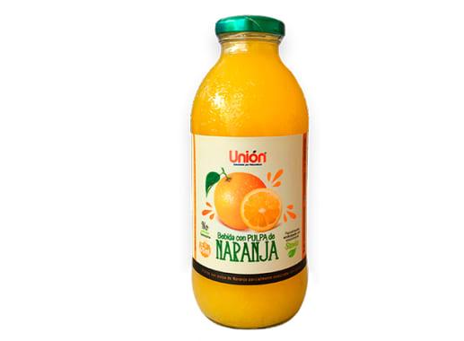 Bebida con pulpa  de naranja 475 ml