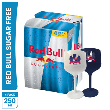 4 Pack Red Bull Sugar Free 250ml
