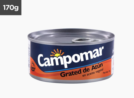 Grated de Atún Campomar