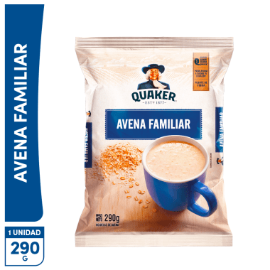 Quaker Avena Familiar Original 290g