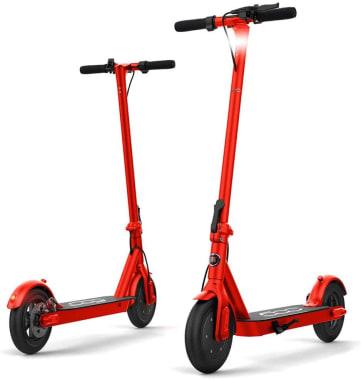 E-scooter Fiat F500 - 10' Color Rojo