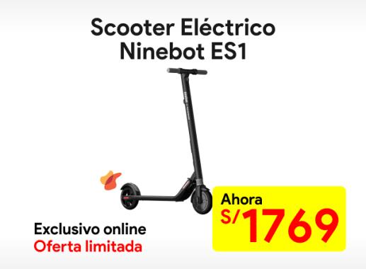 Scooter eléctrico Ninebot ES1