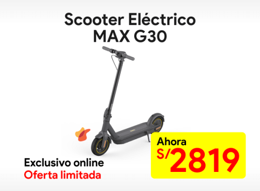 Scooter eléctrico Ninebot MAX G30