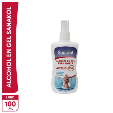 Alcohol Sanakol 65° Spray 100ml